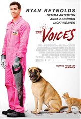 The Voices (2015) Movie Poster Movie Poster