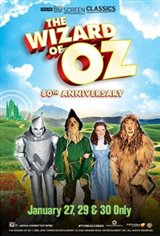 The Wizard of Oz 80th Anniversary (1939) presented by TCM Movie Poster