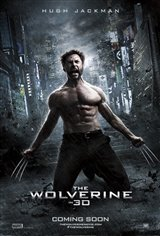The Wolverine 3D Movie Poster