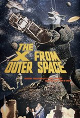 The X from Outer Space (Uchu daikaiju Girara) Movie Poster