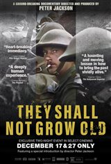 They Shall Not Grow Old Affiche de film