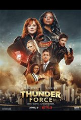 Thunder Force (Netflix) Movie Poster
