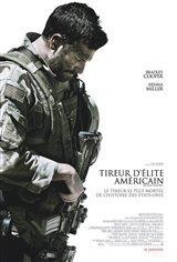 Tireur d'élite américain Affiche de film