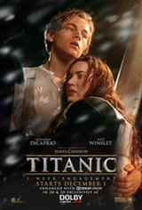 Titanic 20th Anniversary Movie Poster