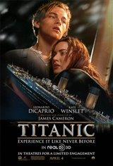 Titanic 3D Movie Poster
