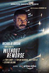 Tom Clancy's Without Remorse (Amazon Prime Video) Movie Poster