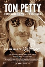 Tom Petty: Somewhere You Feel Free Movie Poster