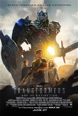 Transformers: Age of Extinction 3D Movie Poster