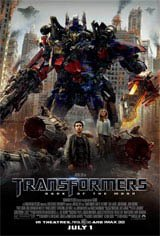 Transformers: Dark of the Moon 3D Movie Poster