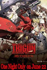 Trigun: Badlands Rumble  Movie Poster