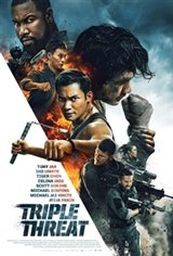 Triple Threat Large Poster