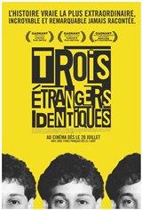 Trois étrangers identiques (v.o.a.s.-t.f.) Affiche de film
