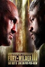 Tyson Fury vs. Deontay Wilder III Movie Poster