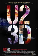 U2 3D Movie Poster