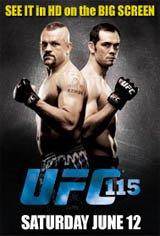 UFC 115: Liddell vs. Franklin Movie Poster
