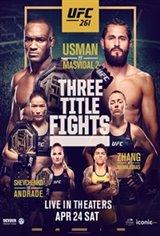 UFC 261: Usman vs. Masvidal 2 Large Poster
