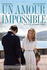 Un amour impossible Affiche de film