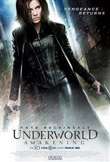 Underworld Awakening 3D Movie Poster