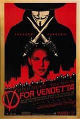 V for Vendetta Movie Poster Movie Poster
