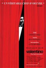 Valentino: The Last Emperor Movie Poster Movie Poster