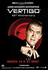 Vertigo 60th Anniversary (1958) presented by TCM Movie Poster
