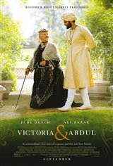 Victoria & Abdul Movie Poster