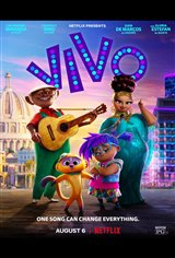 Vivo (Netflix) Movie Poster