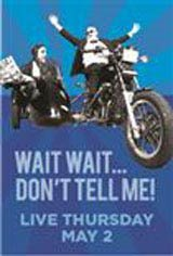 Wait Wait... Don't Tell Me! Live Movie Poster