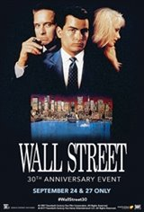 Wall Street 30th Anniversary Movie Poster