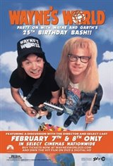 Wayne's World 25th Anniversary Movie Poster