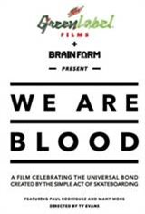 We Are Blood Movie Poster