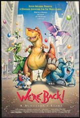We're Back: A Dinosaur's Story Movie Poster