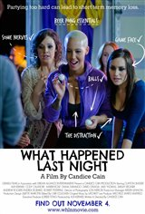 What Happened Last Night Movie Poster