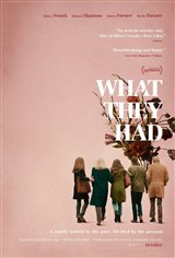 What They Had (v.o.a.) Affiche de film