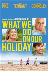 What We Did on Our Holiday Movie Poster Movie Poster