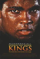 When We Were Kings Movie Poster