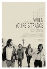 When You're Strange: A Film About the Doors Movie Poster