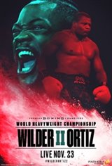 Wilder vs. Ortiz Affiche de film