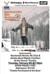 Winter Wildlands Alliance Backcountry Film Festival Movie Poster