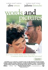 Words and Pictures Movie Poster Movie Poster