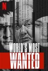 World's Most Wanted (Netflix) Affiche de film