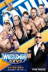 WWE: Wrestlemania XXVII Movie Poster Movie Poster