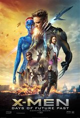 X-Men: Days of Future Past 3D Movie Poster