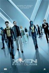 X-Men : Première classe Movie Poster