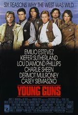 Young Guns Movie Poster