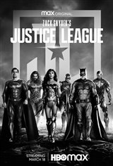 Zack Snyder's Justice League Movie Poster
