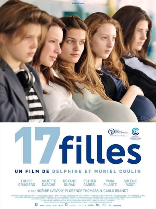 17 Girls Large Poster