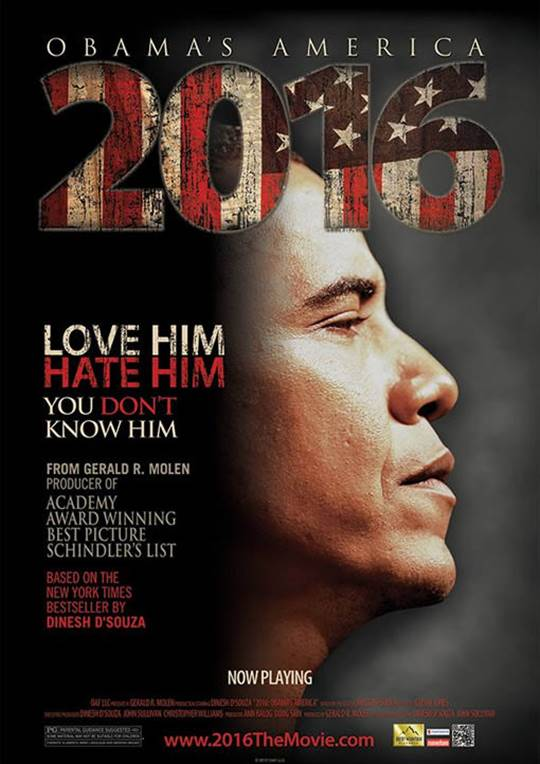 2016: Obama's America Large Poster