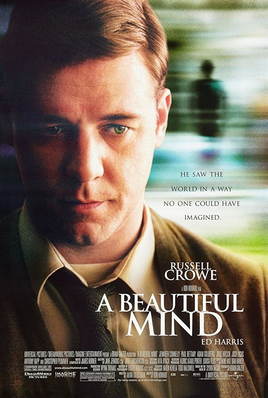 a beautiful mind and disability The film a beautiful mind effectively portrays the life of a person living with schizophrenia and offers viewers several comments on the effects of mental illness without limiting the scope to simply this aspect.