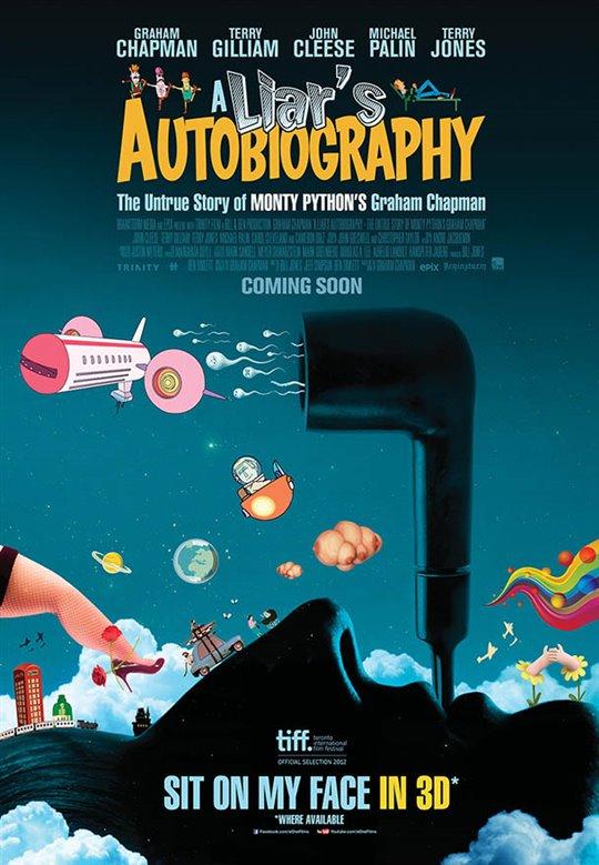 A Liar's Autobiography: The Untrue Story of Monty Python's Graham Chapman Large Poster